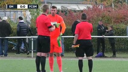 Fragliches Gelb-Rot sorgt für klares Spiel | Eintracht Mahlsdorf - FC Stern Marienfelde (Berlin-Liga)