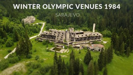 Abandoned Olympic Ruins in Sarajevo