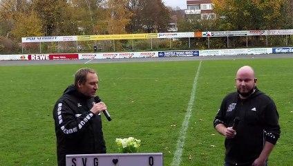 Die Pressekonferenz nach dem Spiel SVG Göttingen gegen MTV Gifhorn