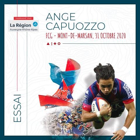Rugby : Video - L'essai marqué par Ange Capuozzo contre Mont-de-Marsan