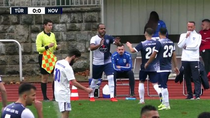 Schlussphasenwahnsinn bei Ronny-Comeback | Türkiyemspor - 1. FC Novi Pazar (Berlin-Liga)