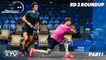 Squash: Qatar Classic 2020 - Rd 2 Roundup [Pt.1]