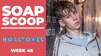 Hollyoaks Soap Scoop! Sid's life-changing week