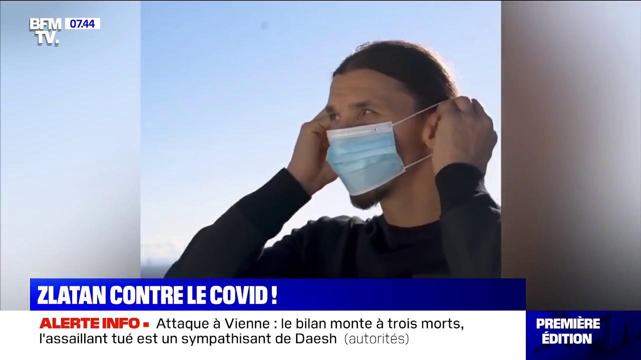 La région de la Lombardie recrute Zlatan Ibrahimović pour un clip de prévention contre le Covid-19