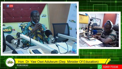 Thank Me And Akufo-Addo With 95% Votes - Dr. Osei Adutwum To His Constituents