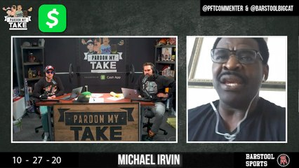 PMT 10/28 - Michael Irvin, The Bears Suck, And The Dodgers Win The World Series