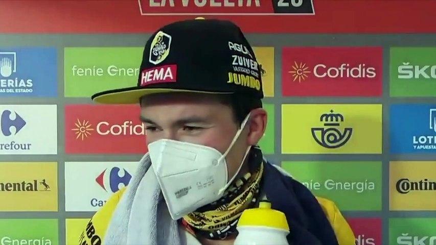 "Tour d'Espagne 2020 - Primoz Roglic : ""It was a long time since I won a TT"""