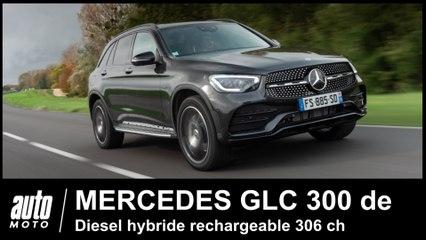 Mercedes GLC 300 de Essai POV du SUV diesel Hybride rechargeable de 306 ch