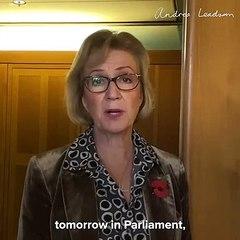 Andrea Leadsom talks about England's second coronavirus lockdown