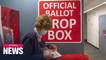 In person-voting in full swing for 2020 U.S. Presidential election; record 101 million voted early