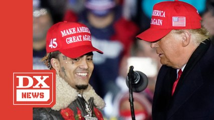 Donald Trump Brings Out Lil Pump In Michigan But Introduces Him As 'Lil Pimp'