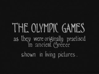 The Olympic Games as They Were Practiced in Ancient Greece (1924)