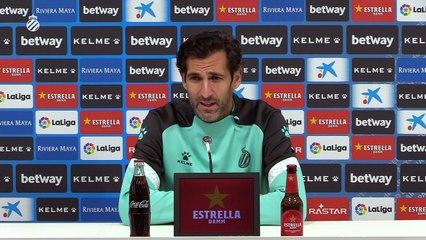 Rueda de prensa de Diego López (4/11/20)