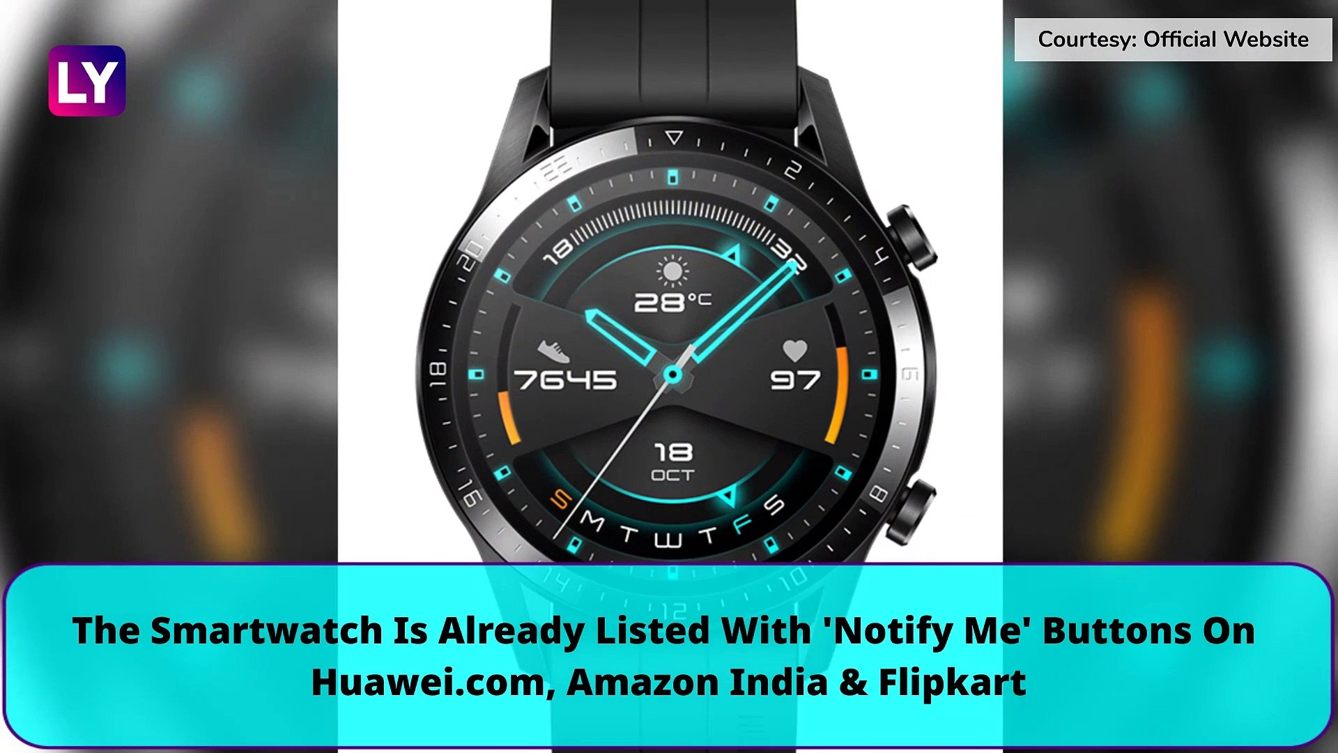Huawei Watch GT 2 Likely To Be Launched In India On December 5 | Price, Features, Variants & Spe