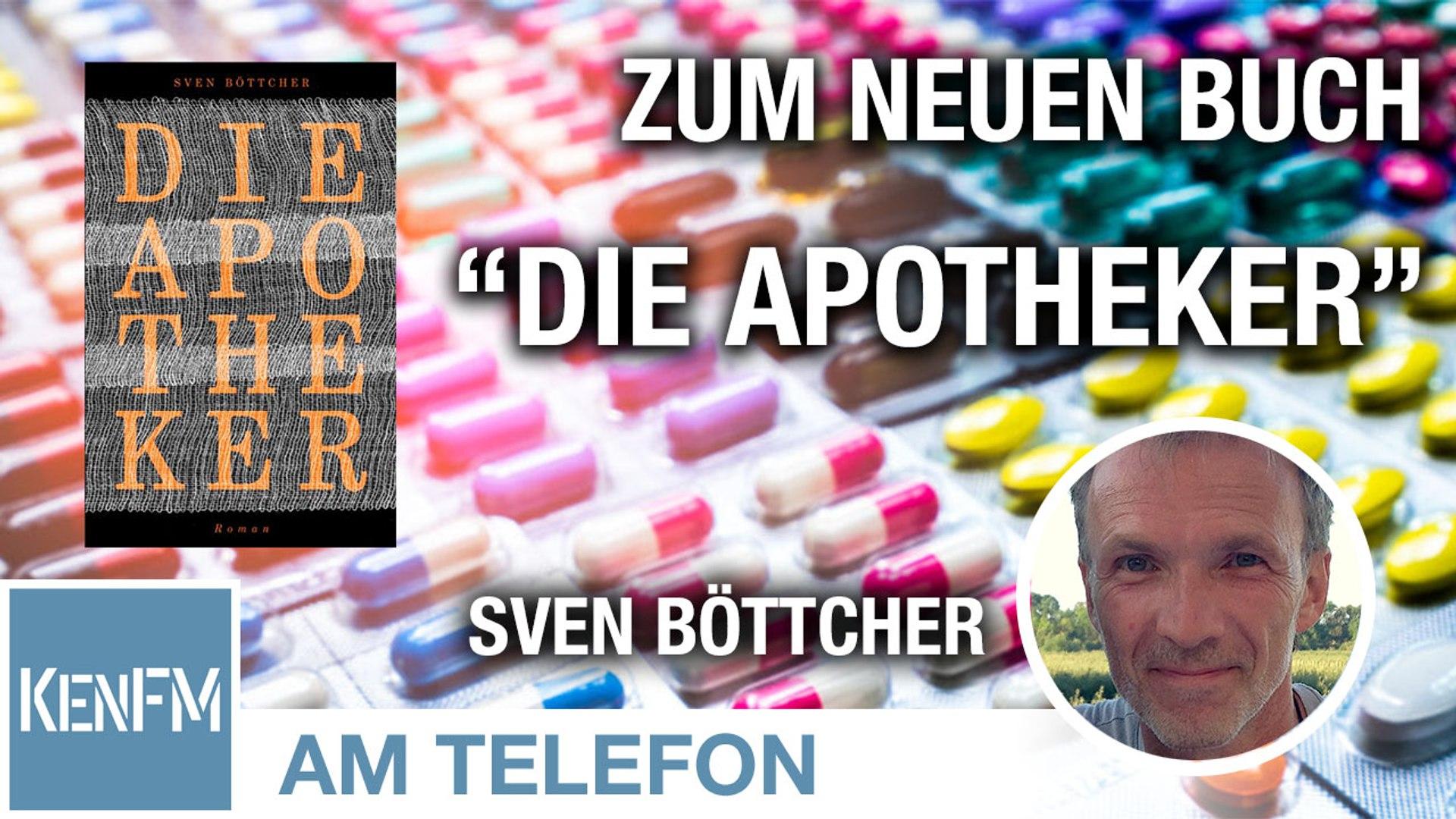 """Am Telefon zum neuen Buch """"Die Apotheker"""": Sven Böttcher"""