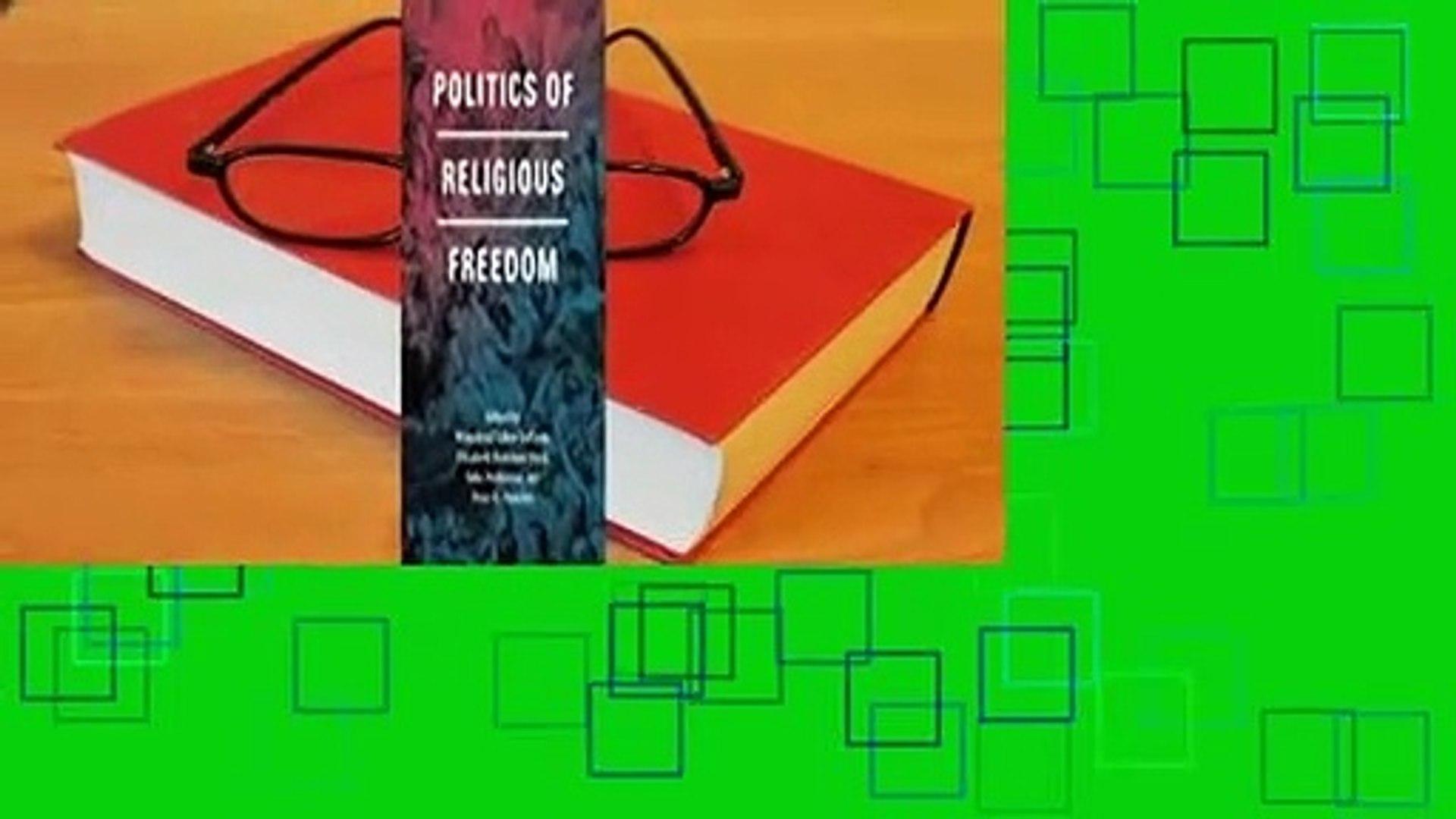 [Read] Politics of Religious Freedom  Review