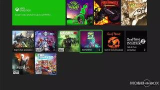 Panoramica interfaccia e giochi Xbox Series X