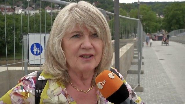 Hammer der Woche – Frisch sanierte Radbrücke gesperrt