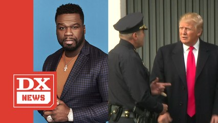 50 Cent Agrees Donald Trump Will Go To Prison If He Loses Election