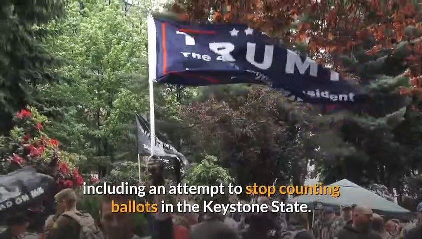 Presidential race undecided Where things stand in uncalled battlegrounds