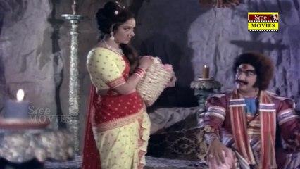 Bala Nagamma | Movie Scene 15 | K. Shankar |Sarath Babu | Sridevi | K. R. Vijaya | Vijayashanti