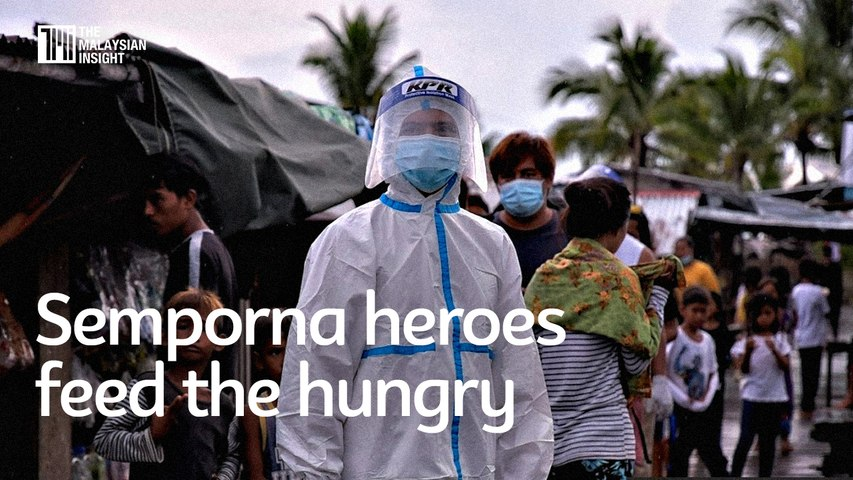 Malaysia in photos | Semporna heroes feed the hungry