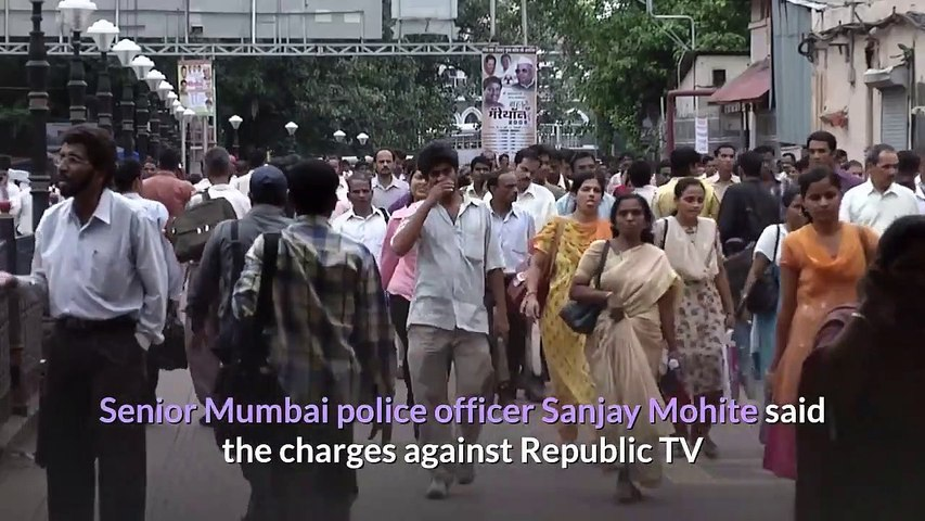 Indian police arrest charge firebrand TV station founder