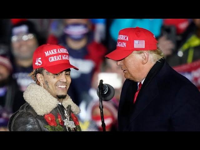 Trump Invites Rapper Lil Pump to Final Rally Calls Him 'Little Pimp'