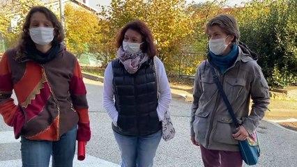 Des parents d'élèves contre le port du masque à l'école