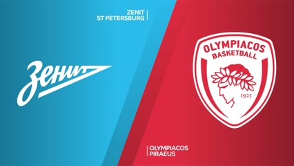 EuroLeague 2020-21 Highlights Regular Season Round 7 video: Zenit 66-75 Olympiacos