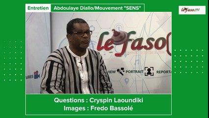 Législatives du 22 novembre 2020 : « Votez ''SENS'' pour donner un sens à votre patrie », Abdoulaye Diallo, tête de liste au Kadiogo