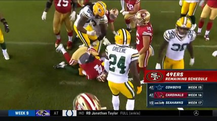 Steve Smith worried 49ers 1-4 at home this season, Nick Mullens 291 yds, TD