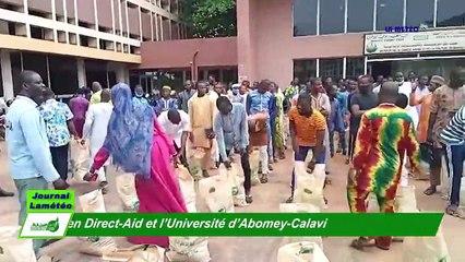 Bénin : Accord cadre de coopération entre Direct-Aid et l'Université d'Abomey-Calavi en faveur des étudiants