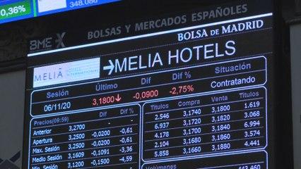 El Ibex 35 iniciaba el viernes con pérdidas que incrementa al 0,75 % tras la apertura