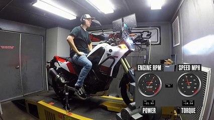 2021 Yamaha Ténéré 700 Dyno