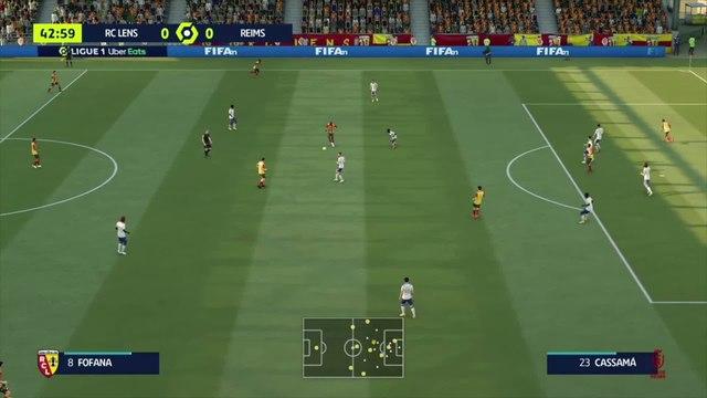 RC Lens - Reims : notre simulation FIFA 21 (L1 - 10e journée)