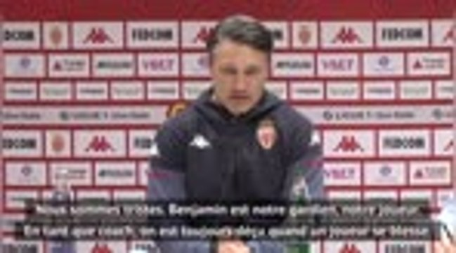 """Monaco - Kovac confirme : """"Six semaines d'absence pour Lecomte"""""""
