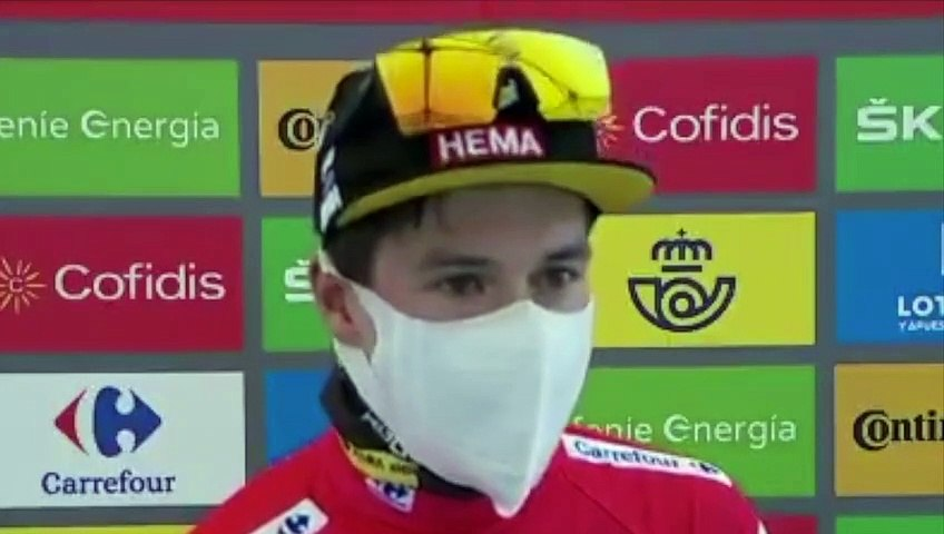 """Tour d'Espagne 2020 - Primoz Roglic : """"I want to be as complete rider as possible"""""""