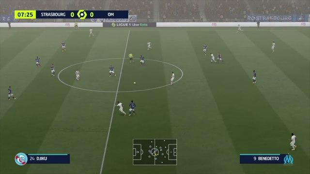 FIFA 21 : notre simulation de RC Strasbourg - OM (L1 - 10e journée)