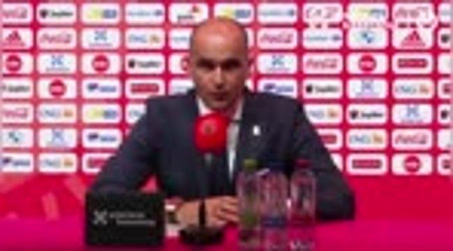 """Belgique - Martinez : """"Essayer d'avoir Hazard à 100 %"""""""