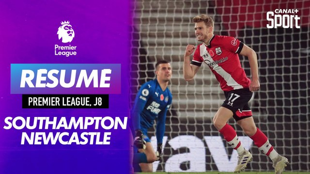 Le résumé de Southampton - Newcastle