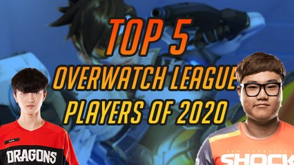 Top 5 Overwatch League Players of 2020
