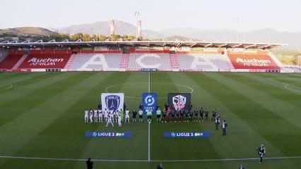Résumé ACA-Paris FC (1-1) J37