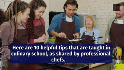 Helpful Cooking Tips Culinary Experts Recommend