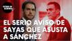 """El serio aviso del diputado de UPN Sergio Sayas que ya preocupa a Sánchez: """"Saldremos a la calle…"""""""