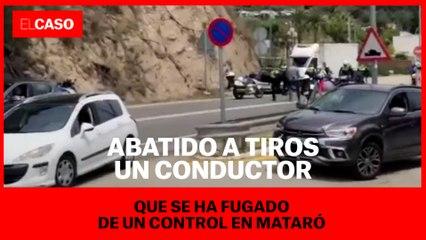 Un policía de Mataró y un mosso han disparado contra el coche de la N-II:  investigación abierta