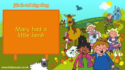 Kidzone - Mary Had A Little Lamb