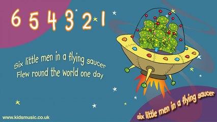 Kidzone - Six Little Men In A Flying Saucer
