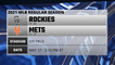 Rockies @ Mets Game Preview for MAY 27 -  3:10 PM ET