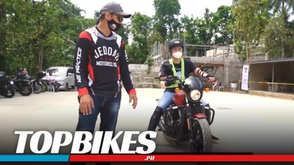Learn to ride using a Harley at MotorClyde Training Center